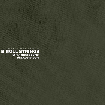Сэмплы MSXII Sound Design B Roll Strings