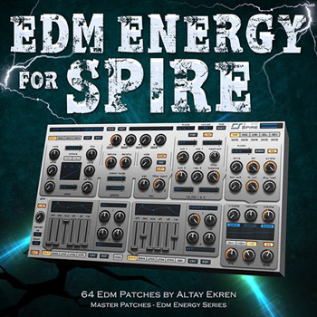 Пресеты Master Patches EDM Energy For Spire