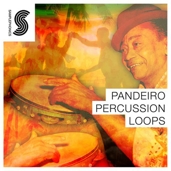 Сэмплы перкуссии Samplephonics Pandeiro Percussion Loops