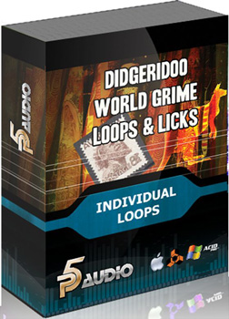 Сэмплы P5 Audio World Grime Loops and Licks Didgeridoo