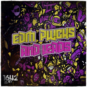 Сэмплы 1642 Beats EDM Plucks and Leads Vol.1