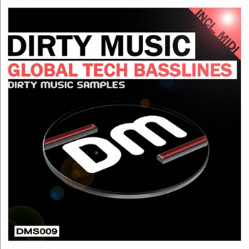Сэмплы Dirty Music Global Tech Basslines