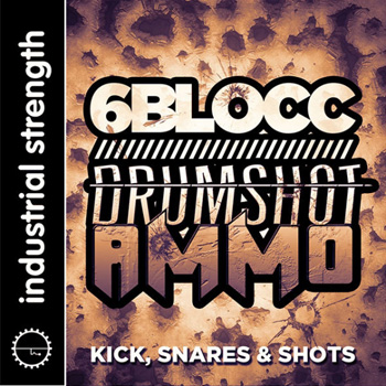 Сэмплы ударных - Industrial Strength Records 6Blocc Drumshot Ammo