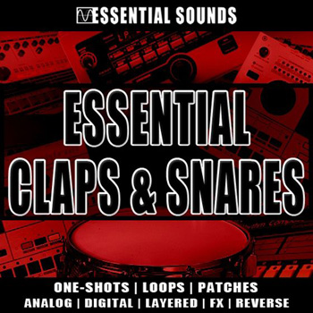 Сэмплы Essential Sounds Essential Claps and Snares