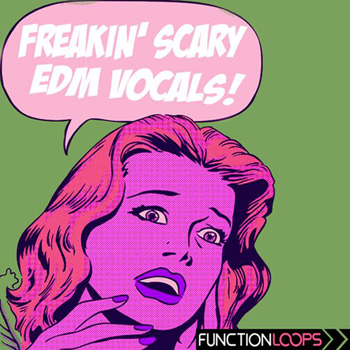 Сэмплы Function Loops Freakin Scary EDM Vocals