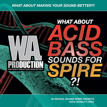 Пресеты What About Acid Bass Sounds For Spire