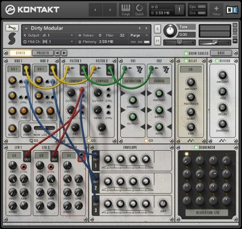 Библиотека сэмплов - Samplephonics Dirty Modular (KONTAKT)