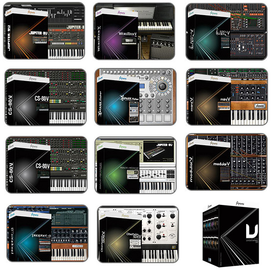 Arturia V Collection 7 v7.2.1 x64