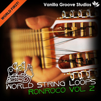 Сэмплы гитары Vanilla Groove Studios World String Loops Ronroco Vol.2