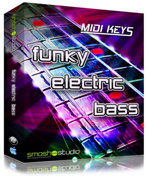 MIDI файлы - Smash Up The Studio MIDI Keys Funky Electric Bass