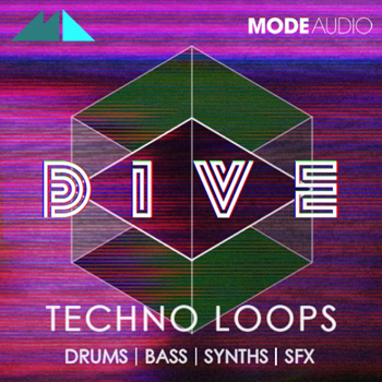 Сэмплы ModeAudio Dive: Techno Loops