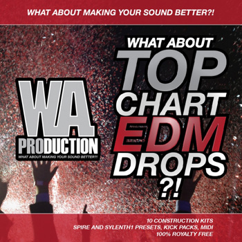 Сэмплы W A Production What About Top Chart EDM Drops