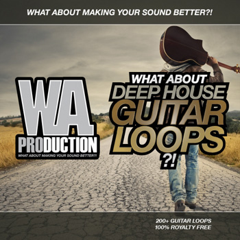 Сэмплы гитары - W A Production What About Deep House Guitar