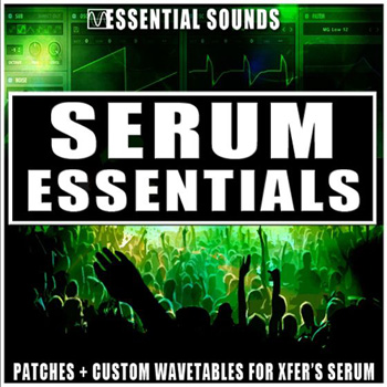 Пресеты Essential Sounds Serum Essentials for Serum
