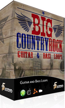 Сэмплы P5 Audio Big Country Rock Guitar & Bass Loops