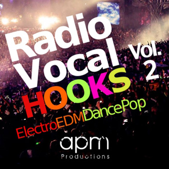 Сэмплы вокала - APM Productions Radio Vocal Hooks Vol.2
