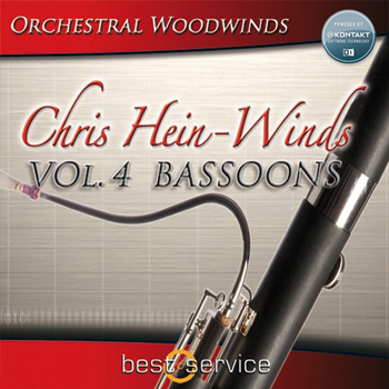 Библиотека сэмплов - Best Service Chris Hein Winds Vol.4 Bassoons (KONTAKT)
