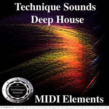 MIDI файлы - Technique Sounds Deep House MIDI Elements