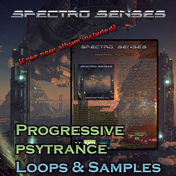 Сэмплы Ronei Music Spectro Senses Progressive Psytrance Samples