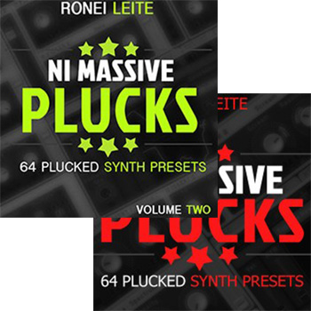 Пресеты Ronei Music NI Massive Plucks Vol.1-2