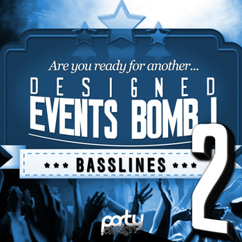 Сэмплы и MIDI - Party Design Designed Events Bomb Vol.2 Basslines