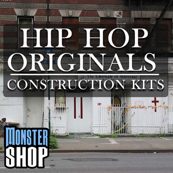 Сэмплы Monster Shop Hip Hop Originals Construction Kits