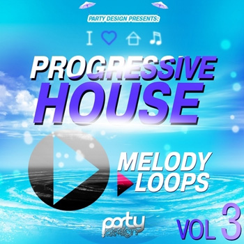 MIDI файлы - Party Design Progressive House Melody Loops Vol.3
