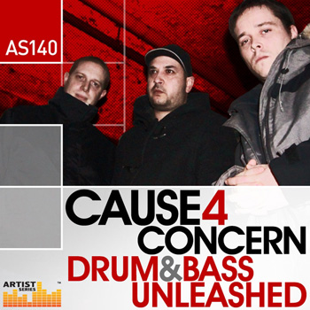 Сэмплы Loopmasters Cause 4 Concern Drum and Bass Unleashed