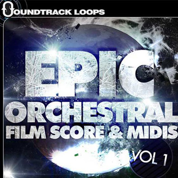 Сэмплы Soundtrack Loops Epic Orchestral Film Score MIDIs