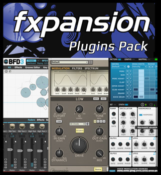 FXpansion Plugins Pack 2015 by R2R