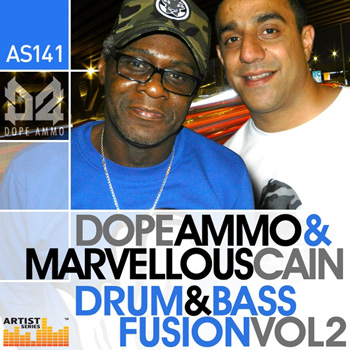 Сэмплы Loopmasters Dope Ammo and Marvellous Cain Drum and Bass Fusion Vol.2