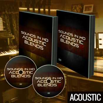 Сэмплы Sounds In HD Acoustic Drum Samples Bundle