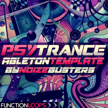 Проект Ableton Live - Function Loops Psytrance Ableton Template by Noizebusters