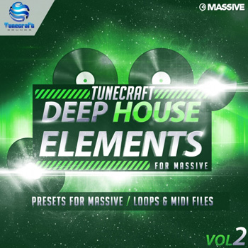 Сэмплы Tunecraft Deep House Elements Vol.2