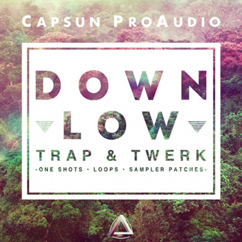 Сэмплы CAPSUN ProAudio Down Low Trap and Twerk