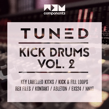 Сэмплы бочек - NDS Components Tuned Kick Drums and Fill Loops Vol.2