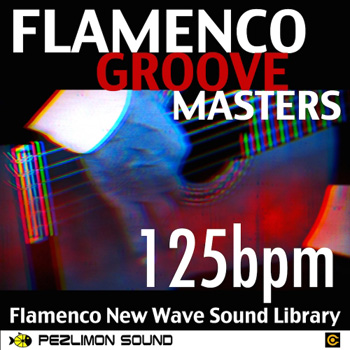 Сэмплы Click-on Music Samples Flameco Groove Masters 125bpm