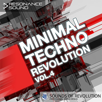 Сэмплы Resonance-Sound SOR Minimal Techno Revolution Vol.4