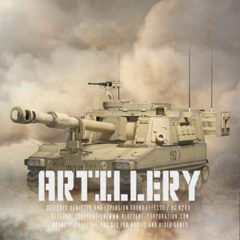Звуковые эффекты -  Bluezone Artillery Designed Howitzer and Explosion Sound Effects