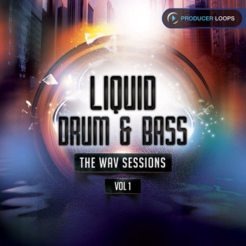 Сэмплы Producer Loops Liquid Drum & Bass The WAV Sessions Vol 1
