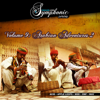 Сэмплы Producer Loops Symphonic Series Vol.9 Arabian Adventures Vol.2
