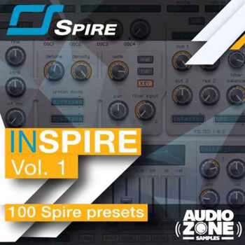 Пресеты Audiozone InSPIRE Vol.1 For Spire