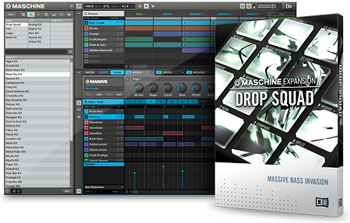 Расширение Native Instruments Maschine Expansion Drop Squad v1.1.0