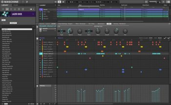 Расширение Native Instruments Maschine Expansion Lazer Dice v1.1.0 (MASCHINE)
