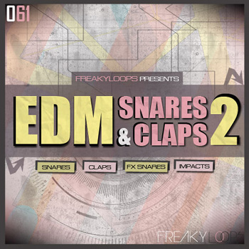 Сэмплы ударных - Freaky Loops - 061 EDM Snares and Claps 2