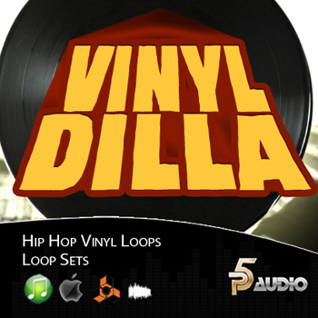 Сэмплы P5Audio Vinyl Dilla Hip Hop Loop Sets