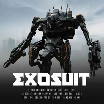 Звуковые эффекты - Bluezone Corporation Exosuit Hybrid Exoskeleton Sound Effects