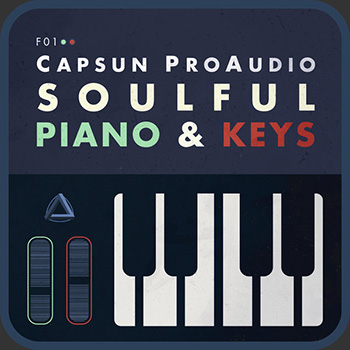 Сэмплы CAPSUN ProAudio Soulful Piano and Keys MIDI and Loops