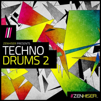 Сэмплы Zenhiser Techno Drums 2