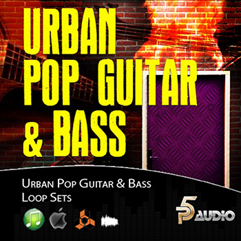 Сэмплы гитары - P5audio Urban Pop Guitar and Bass Loops